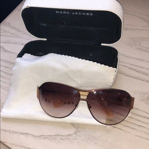 Marc Jacobs sunglasses and case